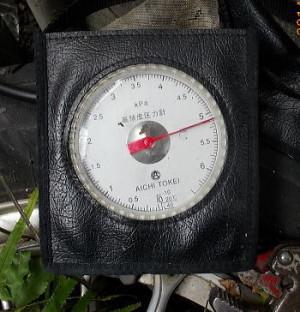 ガス漏れ測定器(チャンバー式圧力計)