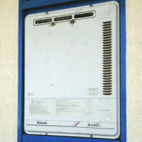 既設ガス給湯器 PS標準設置