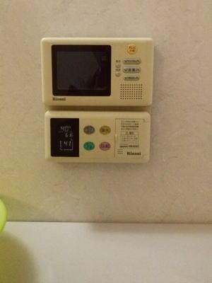 リンナイ製リモコン一体型浴室テレビ MV-410A、410B