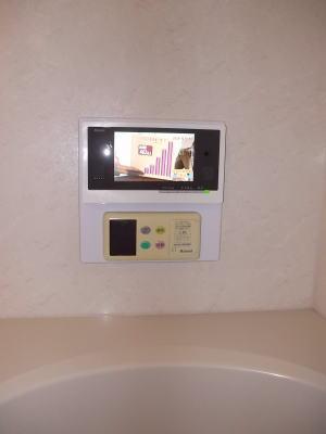 リンナイ製浴室テレビDS-701(フルセグ、7インチ)