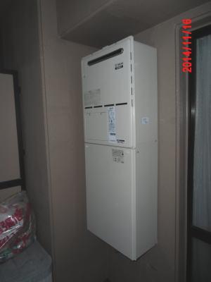 コンパクトサイズ(=高さ60cm)の暖房ふろ給湯器HT4207KRS-AQ