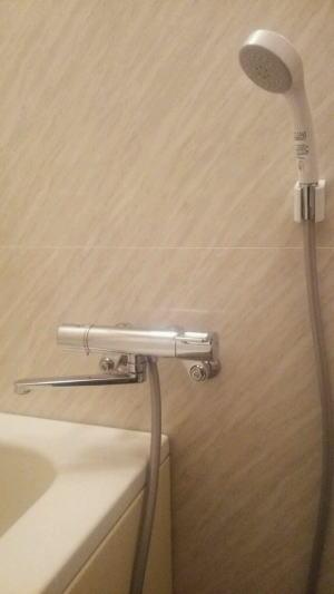 TOTO製シャワー混合栓TMGG40Eに交換