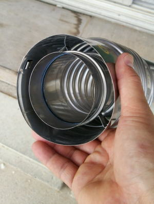 二重管式給排気筒(※)は排気筒内部が2重構造になっています。