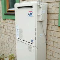 リンナイ製のガスふろ給湯器RUF-A2400AW(A)+コードレスリモコンセットMBCTW-171で交換