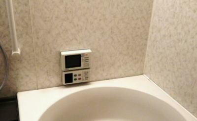 既設 リンナイ製リモコン一体型浴室テレビ MV-410A、410B