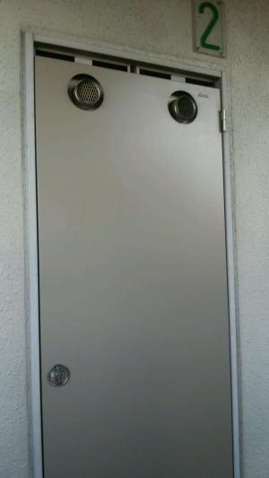 既設(PS扉を閉めている状態)