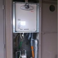 交換完了:RUF-A2005SAT PS扉内標準設置(前排気)