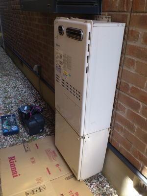 既設 ノーリツ製の暖房ふろ給湯器GTH-2413SAWXH(熱動弁6個内臓)