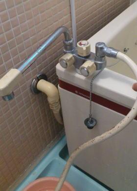 ハウステックのカベピタ専用浴槽用水栓VS-10