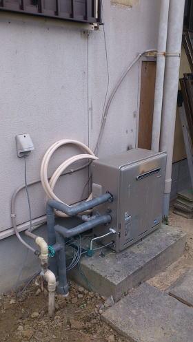 既設据置式ふろ給湯器RFS リンナイ製