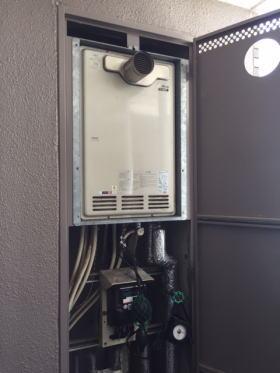 リンナイ製暖房ふろ給湯器HT-245RA1-SW2(2温度タイプ)