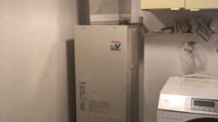 リンナイ製取替専用品RUFH-B1610AFF2-3(FF式屋内設置)で取替完了