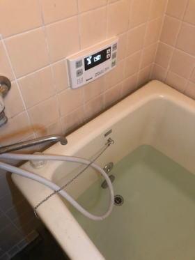 浴槽側完了:直接おいだき式に変更