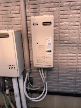 取替完了:浴室内機HBD-3318LCSK-JP+暖房用熱源機HS0706ARS