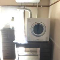 マンションの居室にガス衣類乾燥機RDT-80を新設