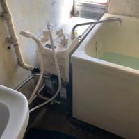 ▼取り替え完了:リンナイ製シャワー付きバランス式ふろがまRBF-ASBN