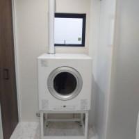 洗面室にガス乾燥機RDT-80を新設